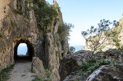 Abandoned tunnel Stock Image