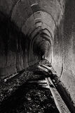 Abandoned Tunnel. An abandoned tunnel near Marietta, Ohio Stock Images