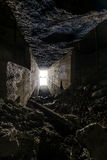 Abandoned Tunnel. An abandoned tunnel in southern Ohio Stock Photo