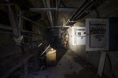 Abandoned underground Stock Photography