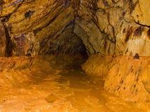 Abandoned underground mining Stock Images