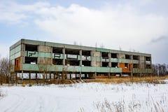 Abandoned unfinished building stock photos
