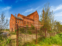 Free Abandoned Urban Brick Building Stock Photography - 91716962