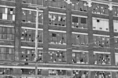 Abandoned Urban Factory - Worn, Broken and Forgotten I Stock Photo