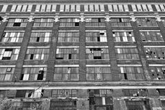 Abandoned Urban Factory - Worn, Broken and Forgotten II Royalty Free Stock Photos