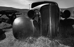 Abandoned vehicle in Bodie California Stock Photos