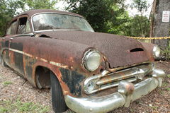 Abandoned vehicle. A picture of an abandoned vehicle Royalty Free Stock Photos