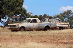 Abandoned Vehicle Stock Images
