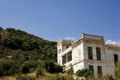 Abandoned villa Stock Photos