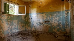 Abandoned Villa - Greece Royalty Free Stock Images