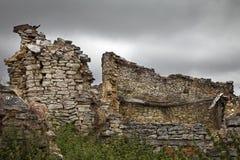 Abandoned village Stock Images