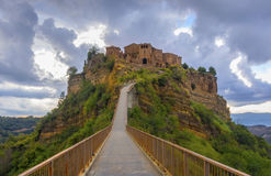 Abandoned village of Bagnoregio, Italy Stock Photos