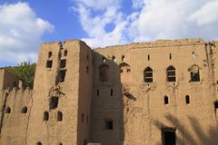 Abandoned Village Birkat Al-Mawz Royalty Free Stock Photos