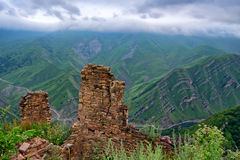 Free Abandoned Village Gamsutl In Dagestan Royalty Free Stock Photography - 87718067