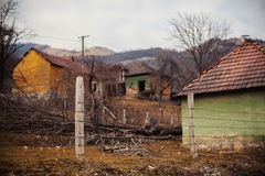 Abandoned Village Household Stock Photography