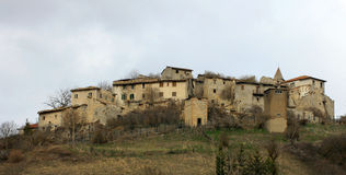 Abandoned village - Lazio Stock Images