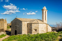 Abandoned village of Occi near Lumio in Corsica Royalty Free Stock Photography