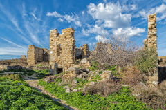 Abandoned village of Occi near Lumio in Corsica Stock Image