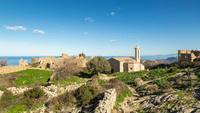 Abandoned village of Occi near Lumio in Corsica Stock Images