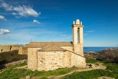 Abandoned village of Occi near Lumio in Corsica Stock Image