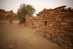 Abandoned Village in Rajasthan India Royalty Free Stock Photo