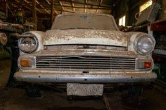 Abandoned vintage car Stock Image