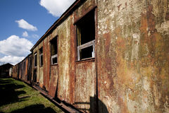 Abandoned Waggon Royalty Free Stock Photos