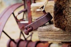 Abandoned Wagon stock image