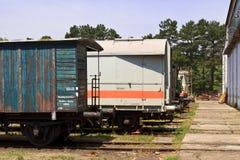 Abandoned wagon yard Royalty Free Stock Photos
