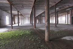 Abandoned Warehouse Stock Photography