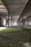Abandoned Warehouse Royalty Free Stock Photo