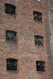Abandoned Warehouse Stock Photo