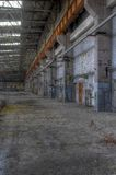 Abandoned warehouse Stock Image