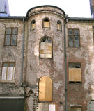 Abandoned Warehouse Royalty Free Stock Photos