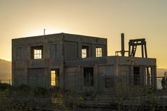 Abandoned Warehouse Building Royalty Free Stock Photography