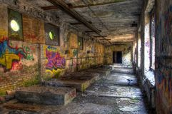 Abandoned Warehouse Stock Images