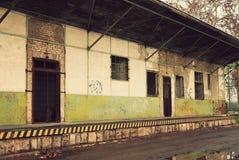 Abandoned warehouse Stock Photos