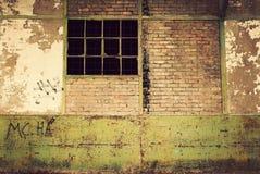Abandoned warehouse Royalty Free Stock Photo