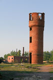 Abandoned water tower Royalty Free Stock Photos