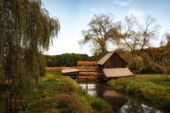 Abandoned Watermill Royalty Free Stock Photos