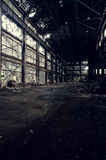 Abandoned Wean United Factory - Youngstown, Ohio. Wean United is a former manufacturer of equipment that was used to process and finish flat rolled steel,  royalty free stock image