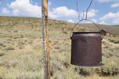 Abandoned Well Bucket Stock Image