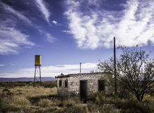 Abandoned in West Texas Royalty Free Stock Images