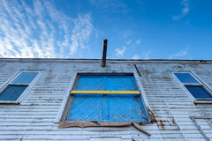 Abandoned wharf building Royalty Free Stock Photography