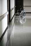 Abandoned wheelchair Stock Images