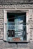 Abandoned window Royalty Free Stock Image