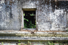 Abandoned window in Temple Stock Images