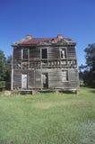 Abandoned wooden farm house, SC Royalty Free Stock Image