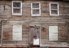 Abandoned wooden house Royalty Free Stock Image