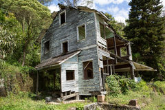 Abandoned wooden house in Honduras Stock Photos